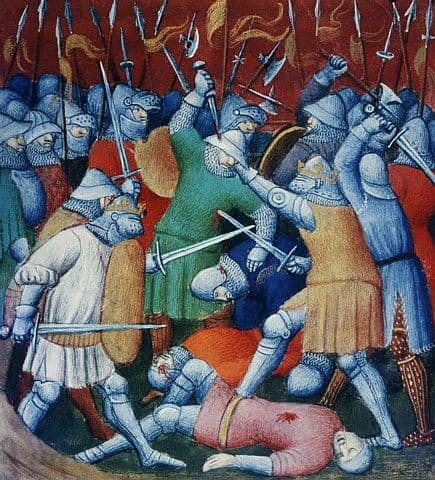 who orchestrated the battles during the crusades