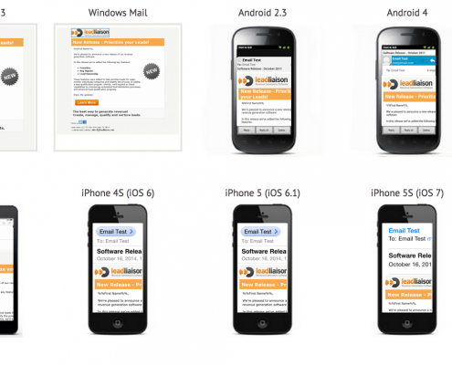 Email Preview on Mobile, Desktop and Web Clients