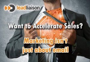 Accelerate Sales Postcard
