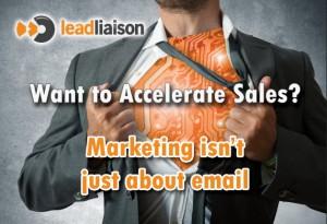 Accelerate Sales Postcard