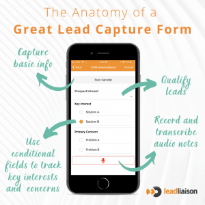 The Anatomy of an Event Lead Capture Form